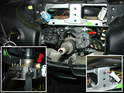 Here's what the steering wheel column looks like with the switch removed.