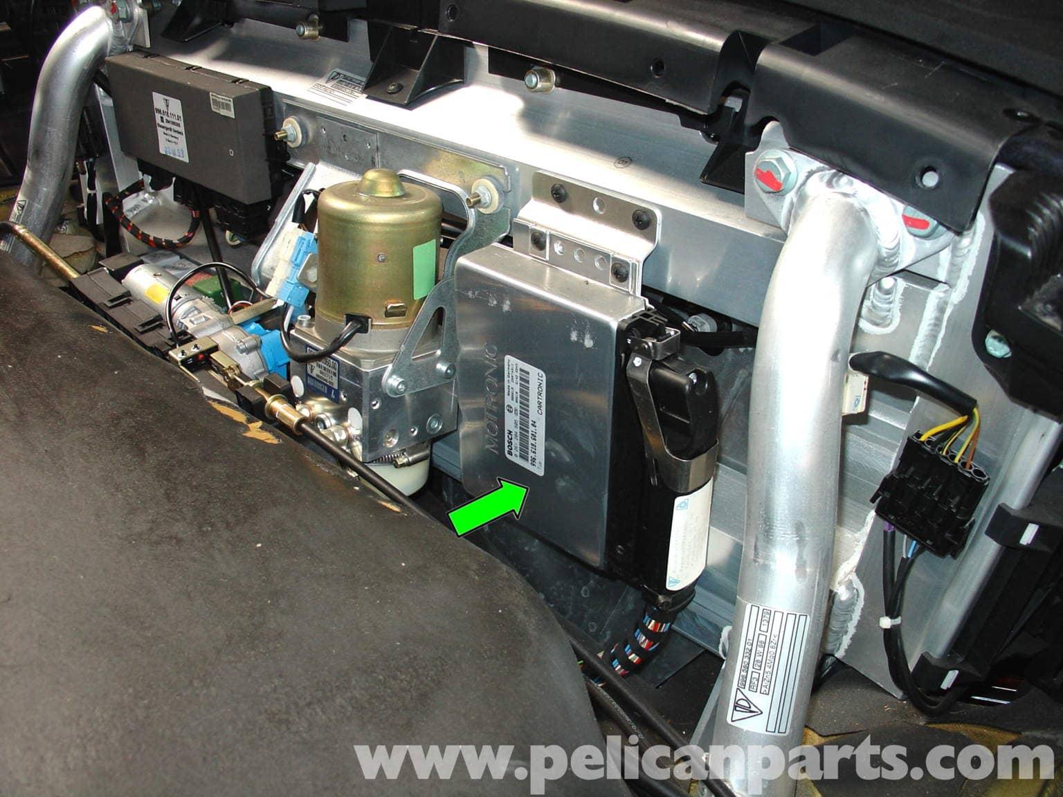 Porsche 911 Carrera Cruise Control Installation