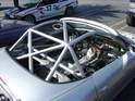 Any dedicated track car requires a welded-in roll cage.