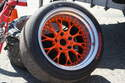Shown here is a Kinesis K28 wheel, one of the best choices available in high-performance wheels.