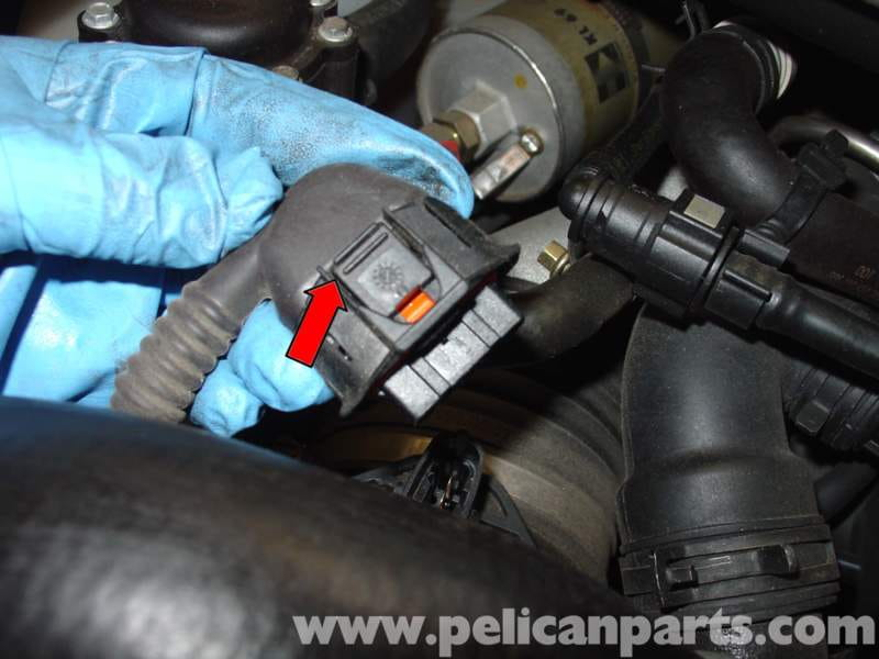Porsche 996 Turbo Engine Air Filter Replacement