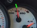 Once at operating temp (green arrow) you can initiate the oil level measurement via the instrument cluster.