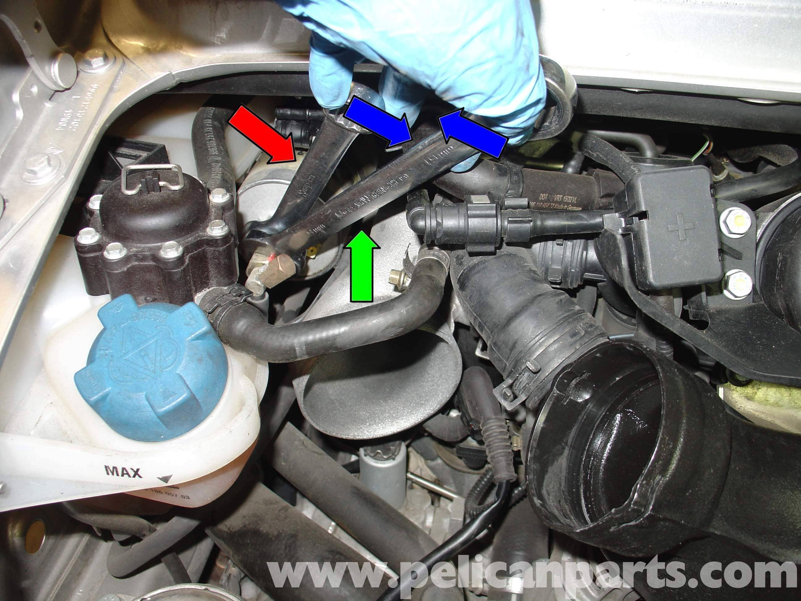 Porsche 996 Turbo Fuel Filter Replacement Gt2 2002 2005 07 Mustang Large Image Extra
