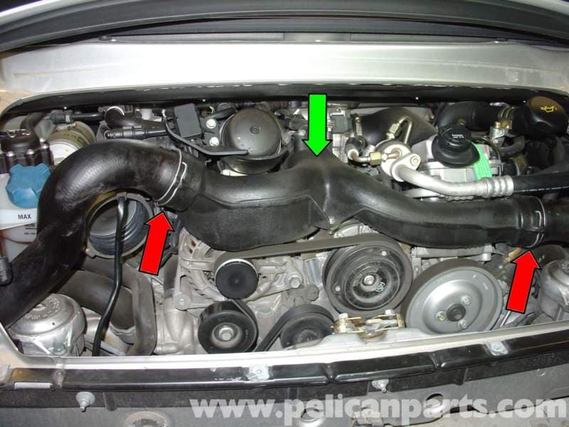Porsche 996 Turbo Throttle Body Cleaning And Replacement
