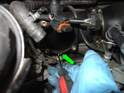 Using a pick tool or a screwdriver pull the old gasket out of the plenum.