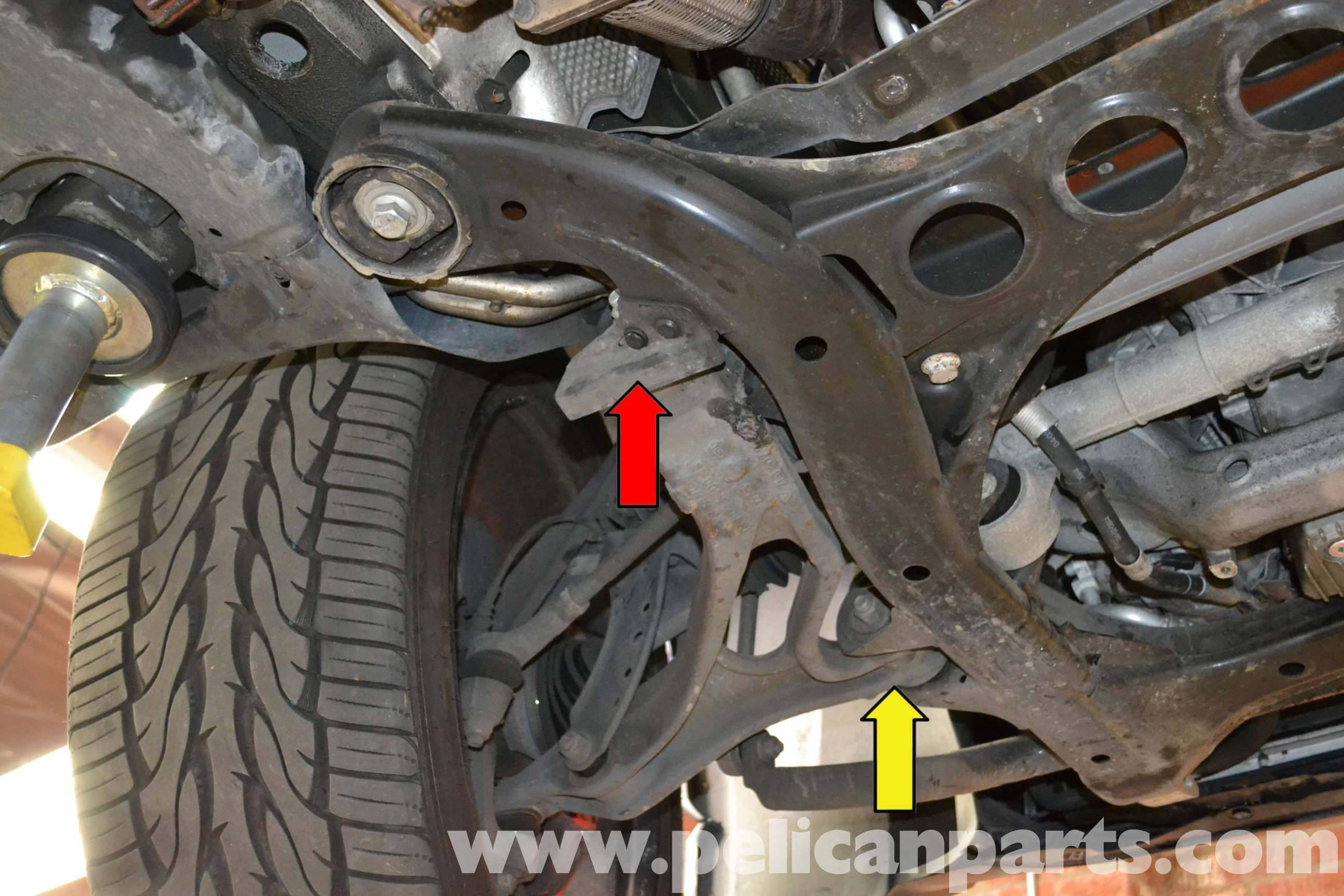 Front Lower Control Arm Bushings