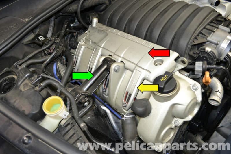 Porsche Cayenne Intake Manifold Removal (955 GTS/S/Turbo ...