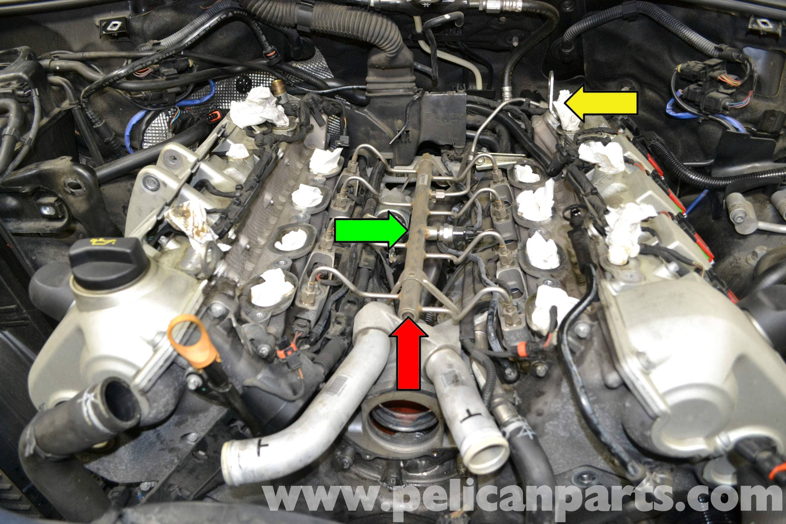 Porsche Cayenne High Pressure Fuel Sensor Replacement 955