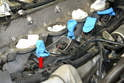 Immediately cover the injector openings even if you are going to be reinstalling the rail in a short amount of time.