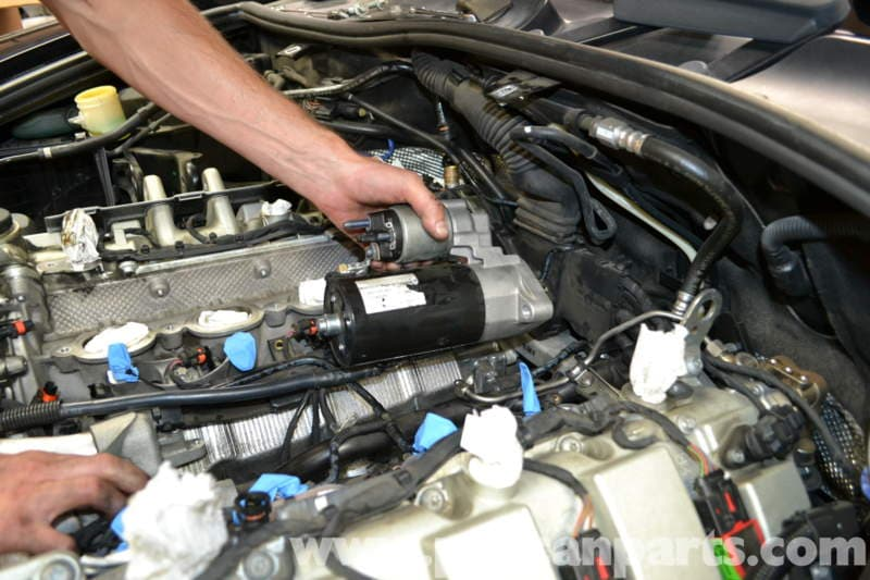 Porsche cayenne knock sensor replacement 955 gts s turbo for When do you need a motor starter