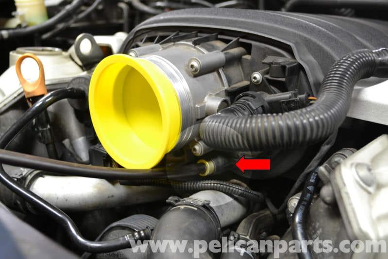 Porsche Cayenne Vacuum Leak Testing 955 Gts S Turbo 2010