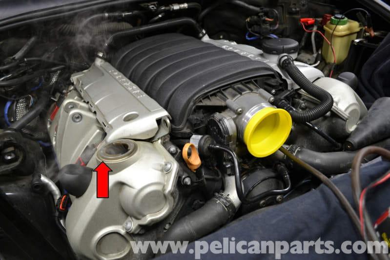 Porsche Cayenne Vacuum Leak Testing (955 GTS/S/Turbo 2010