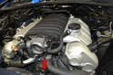 Remove the engine covers so that you have the front of the motor uncovered.