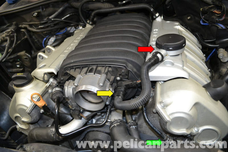 Porsche Cayenne Air Oil Separator Replacement  955 Gts  S  Turbo 2010