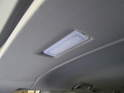 Shown here is the center upper trim panel that holds the rear hatch light.