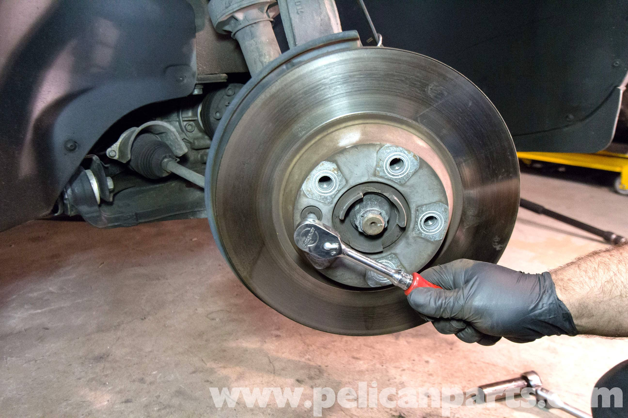Porsche Cayenne Front Brake Rotor Replacement 2003 2008