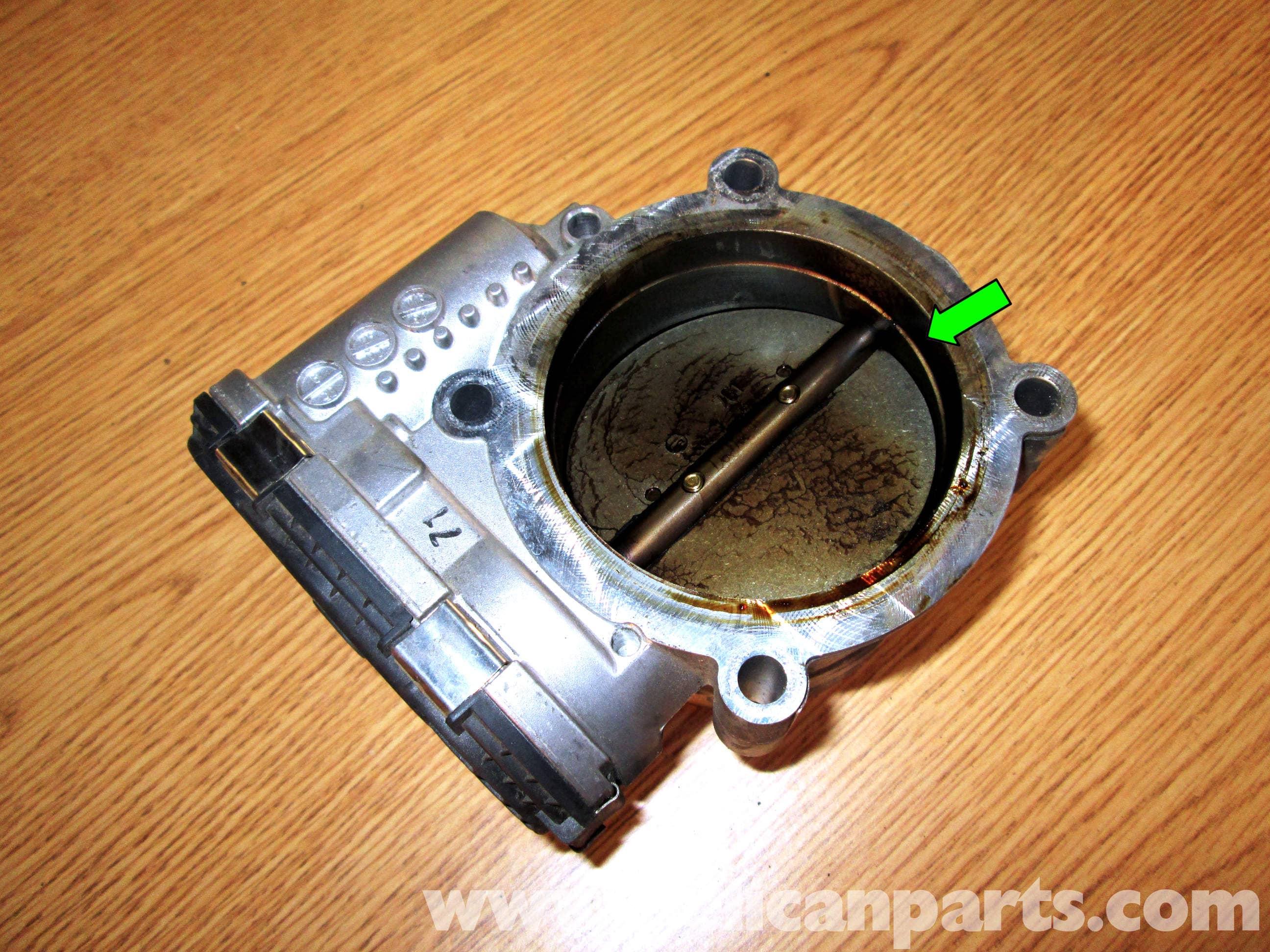 Porsche Cayenne Throttle Body Cleaning | 2003-2008 | Pelican