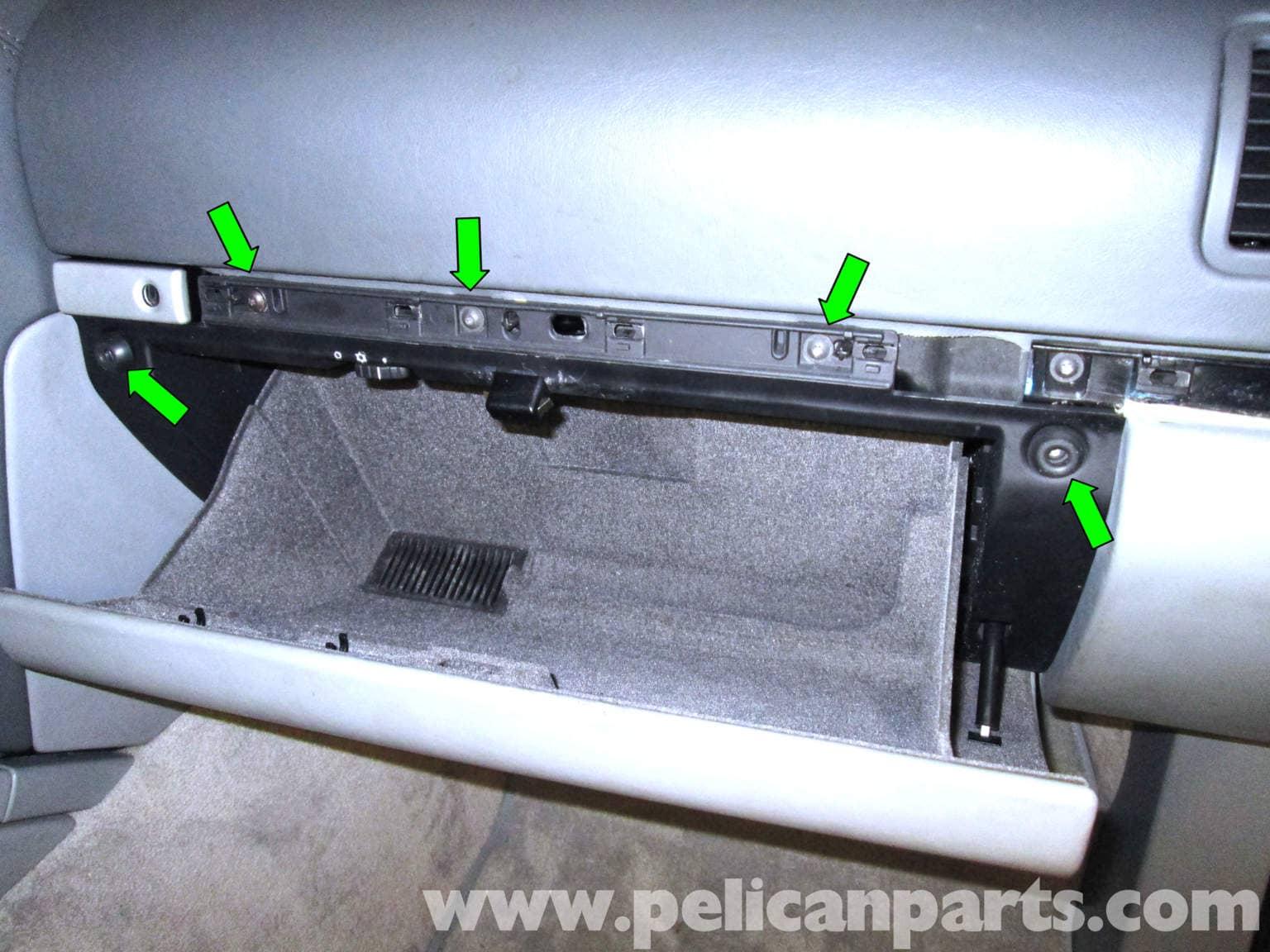 Porsche Cayenne Glove Box Catch Replacement 2003 2008
