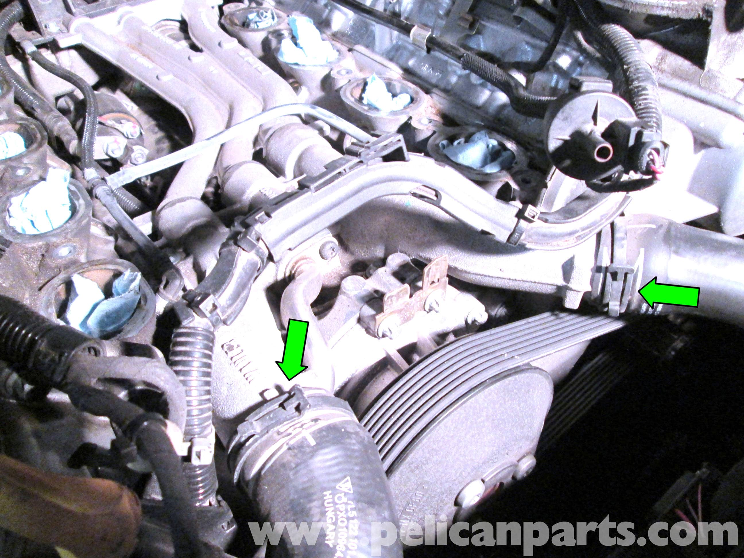 pic05 porsche cayenne thermostat replacement 2003 2008 pelican parts  at mifinder.co