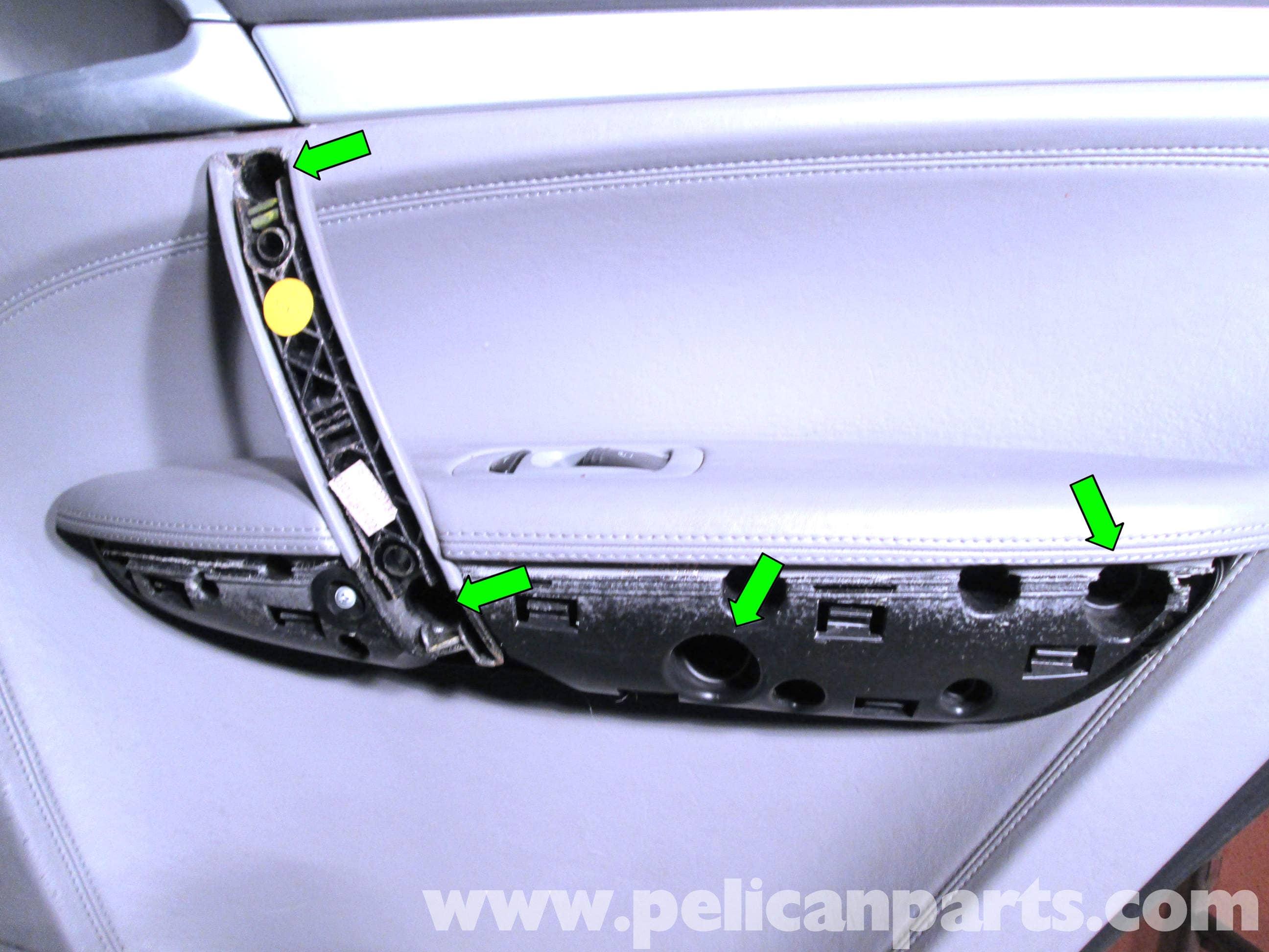 Porsche Cayenne Rear Door Panel Removal | 2003-2008 | Pelican Parts ...