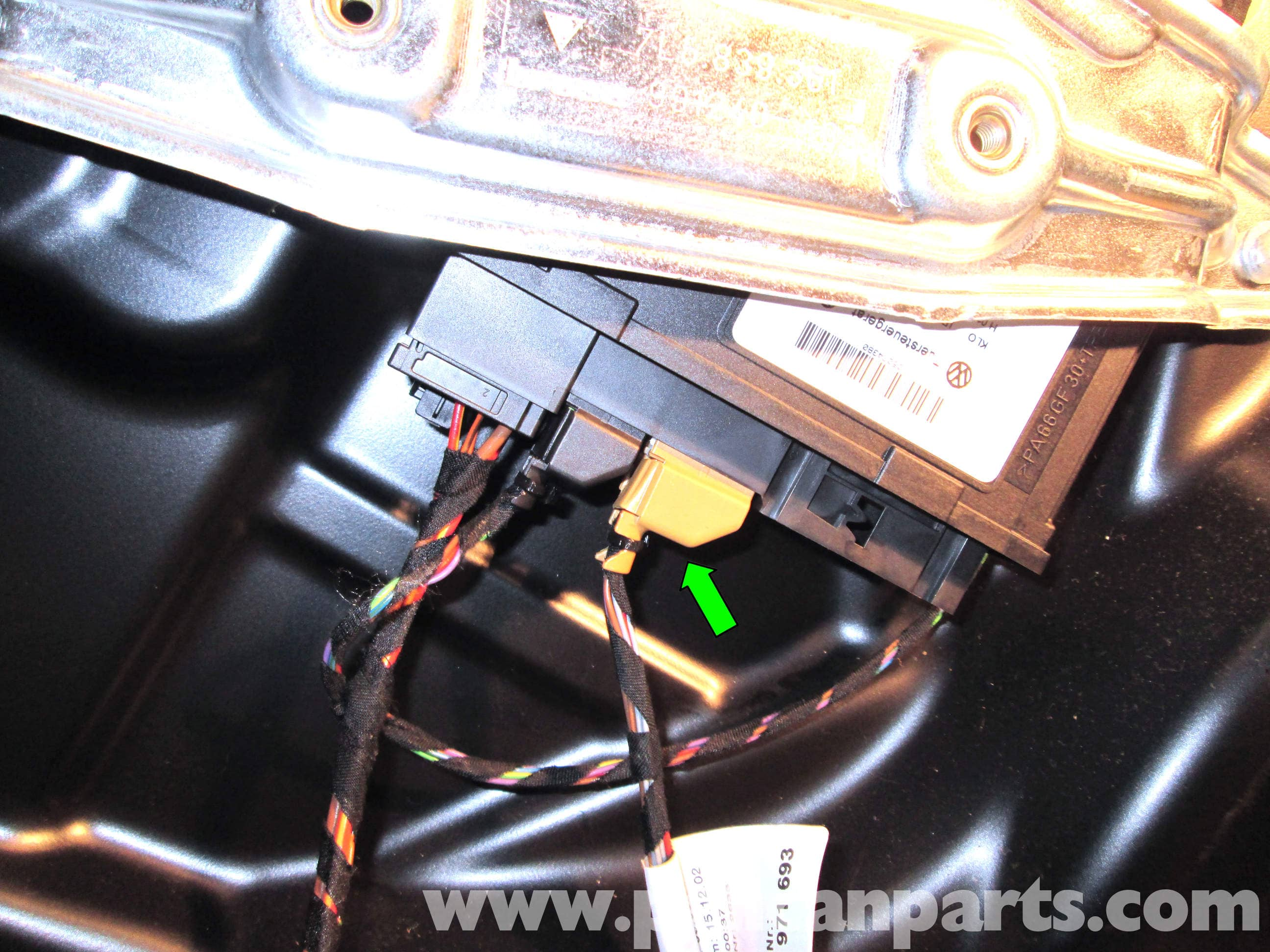 Porsche Cayenne Rear Door Panel Removal 2003 2008 Pelican Parts Wire Harness Repair Large Image Extra