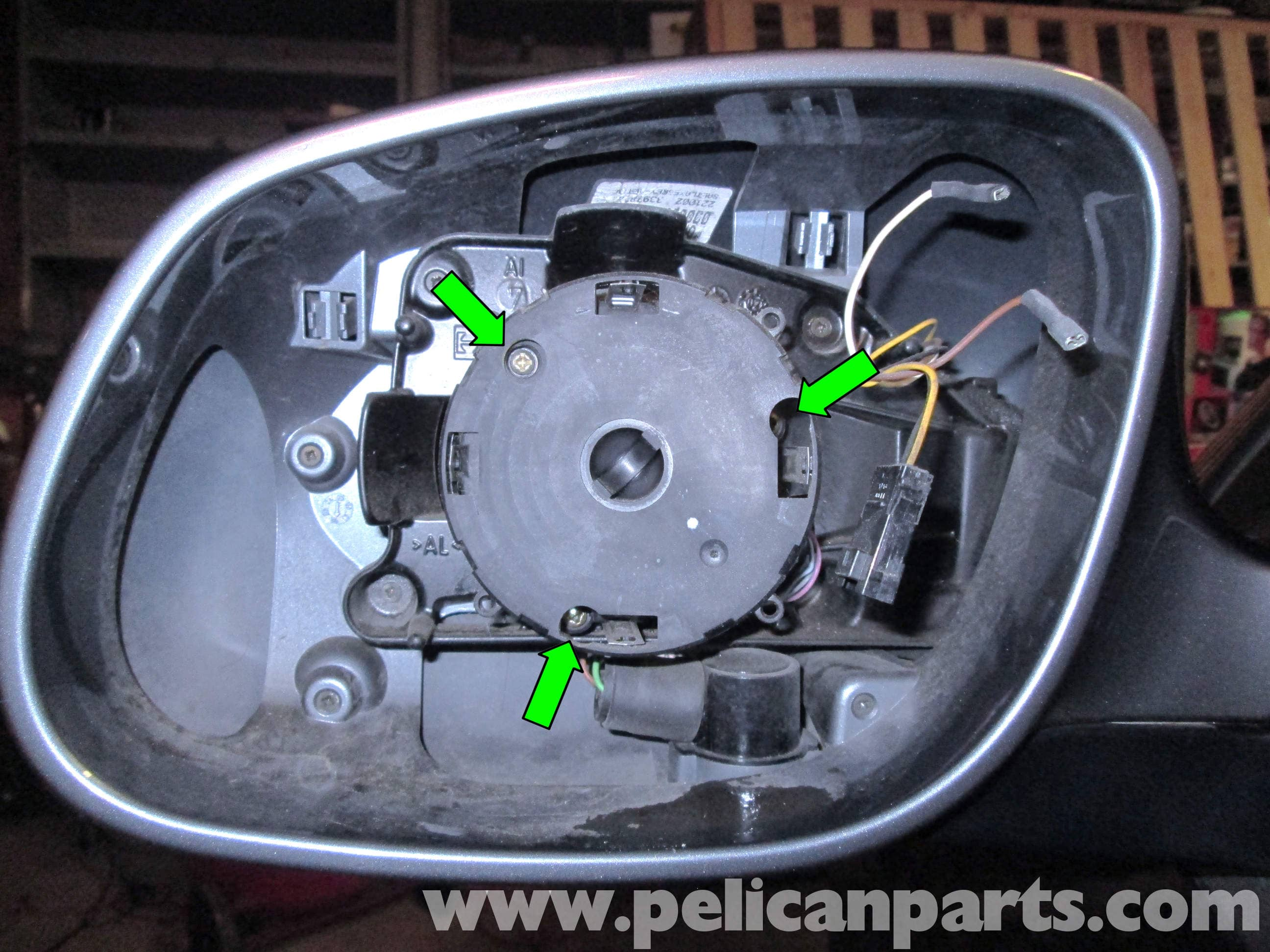 Porsche Cayenne Mirror Motor Replacement 2003 2008