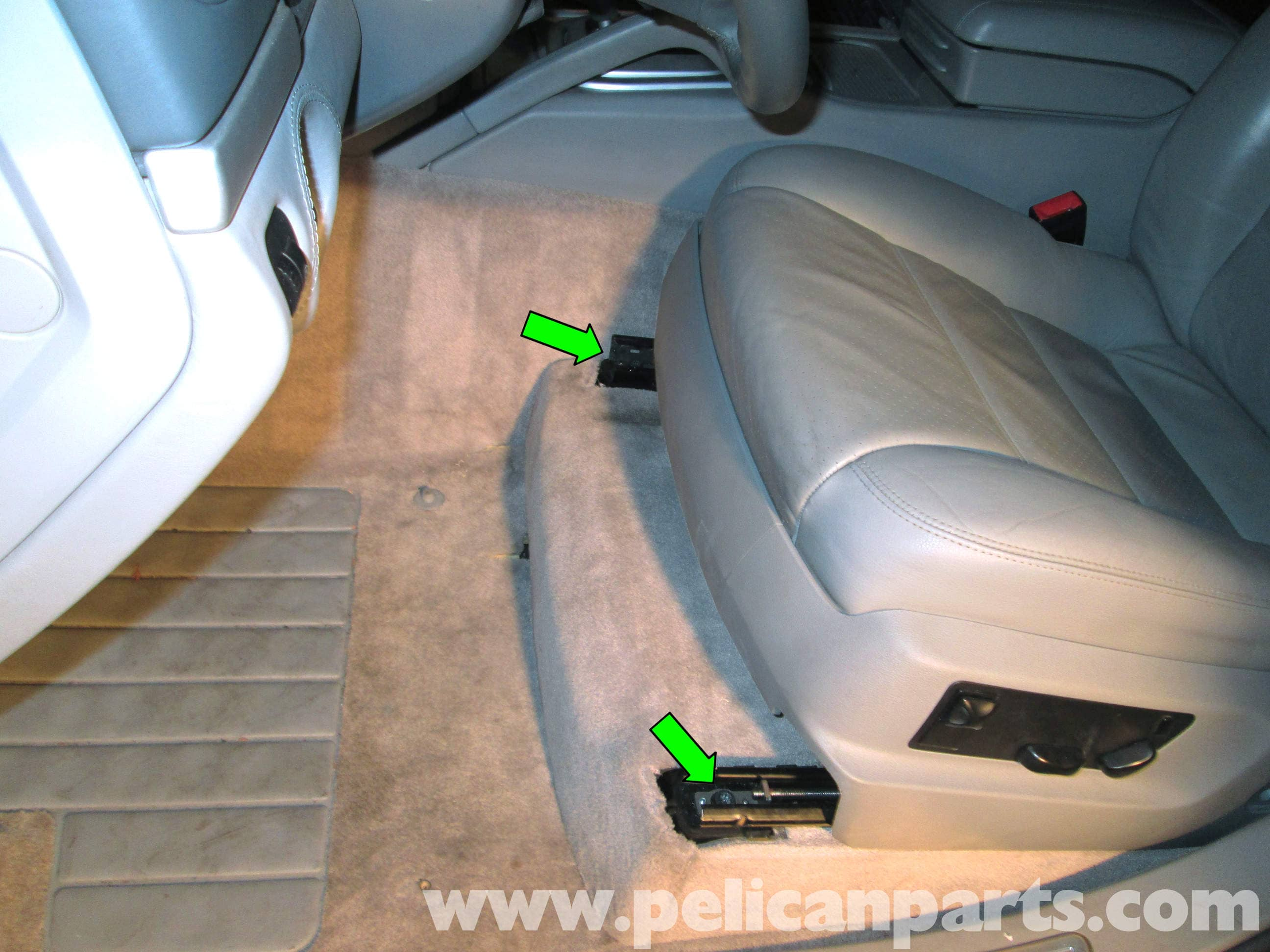 Porsche Cayenne Front Seat Removal