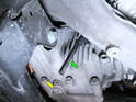 You'll want to remove the fill plug first to help drain the oil from the differential.