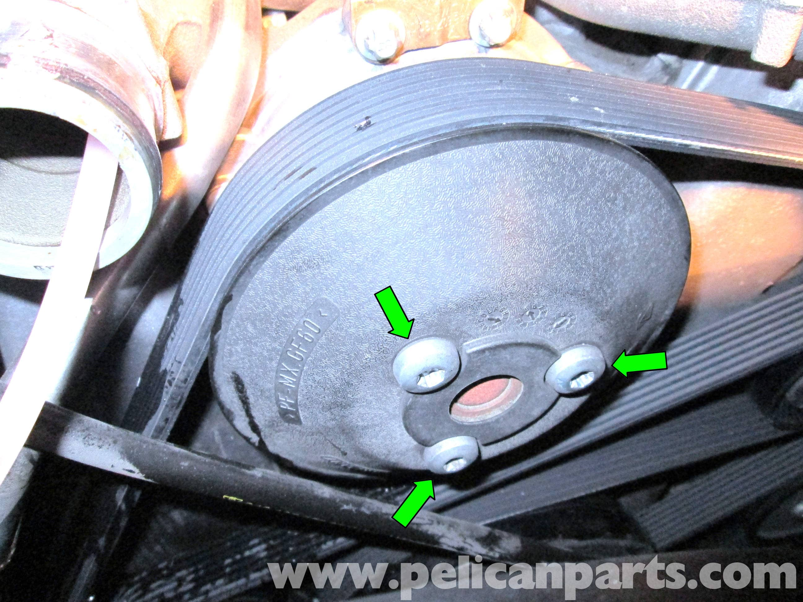 porsche cayenne water pump replacement 2003 2008. Black Bedroom Furniture Sets. Home Design Ideas