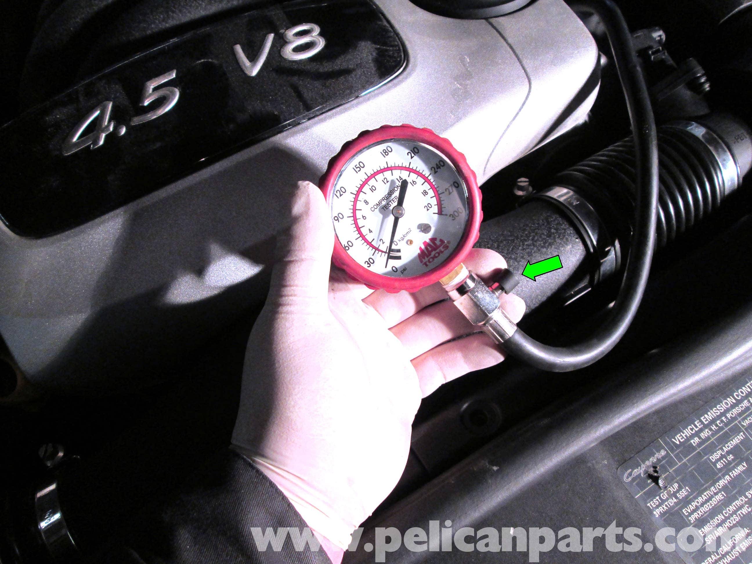 Porsche Cayenne Compression Test | 2003-2008 | Pelican Parts