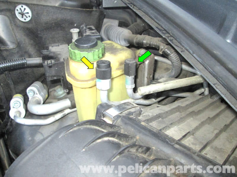 Porsche Cayenne Checking Air Conditioning Refrigerant