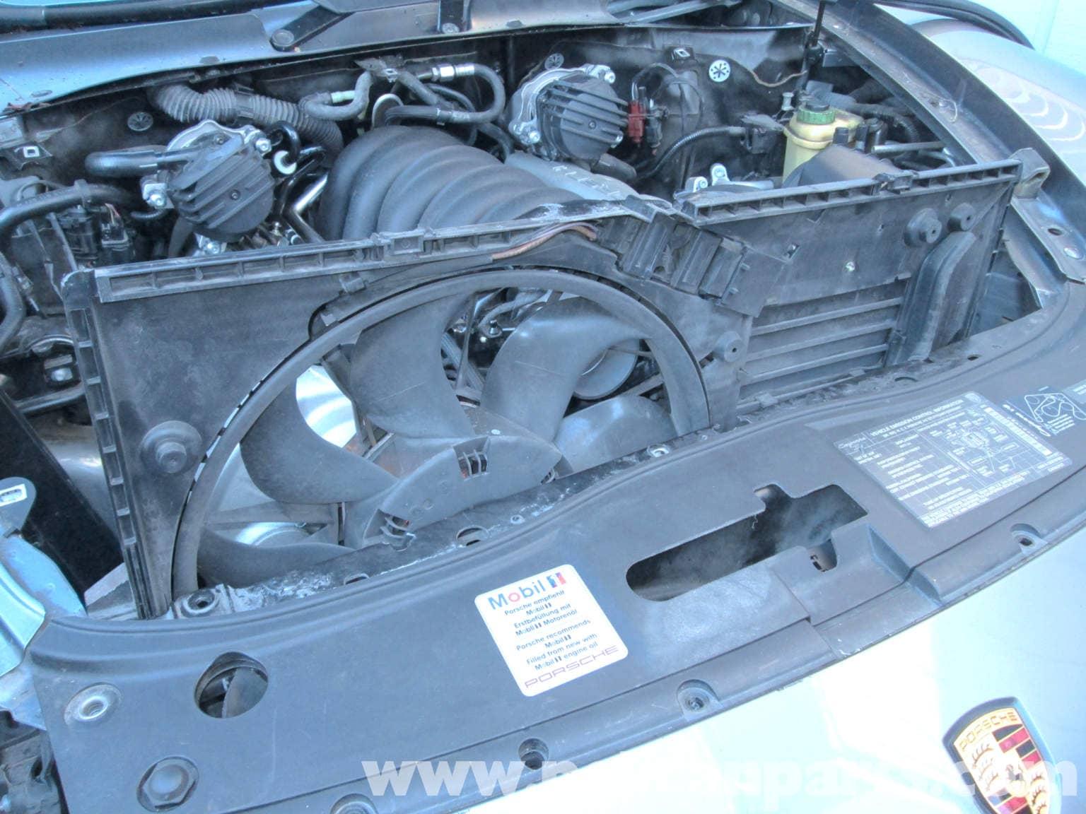 Porsche Cayenne Radiator Fan Replacement 2003 2008
