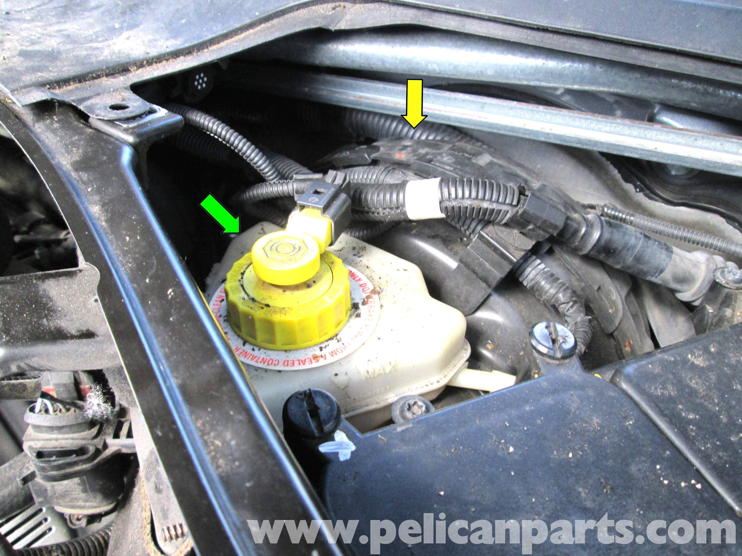 2006 porsche cayenne power steering fluid