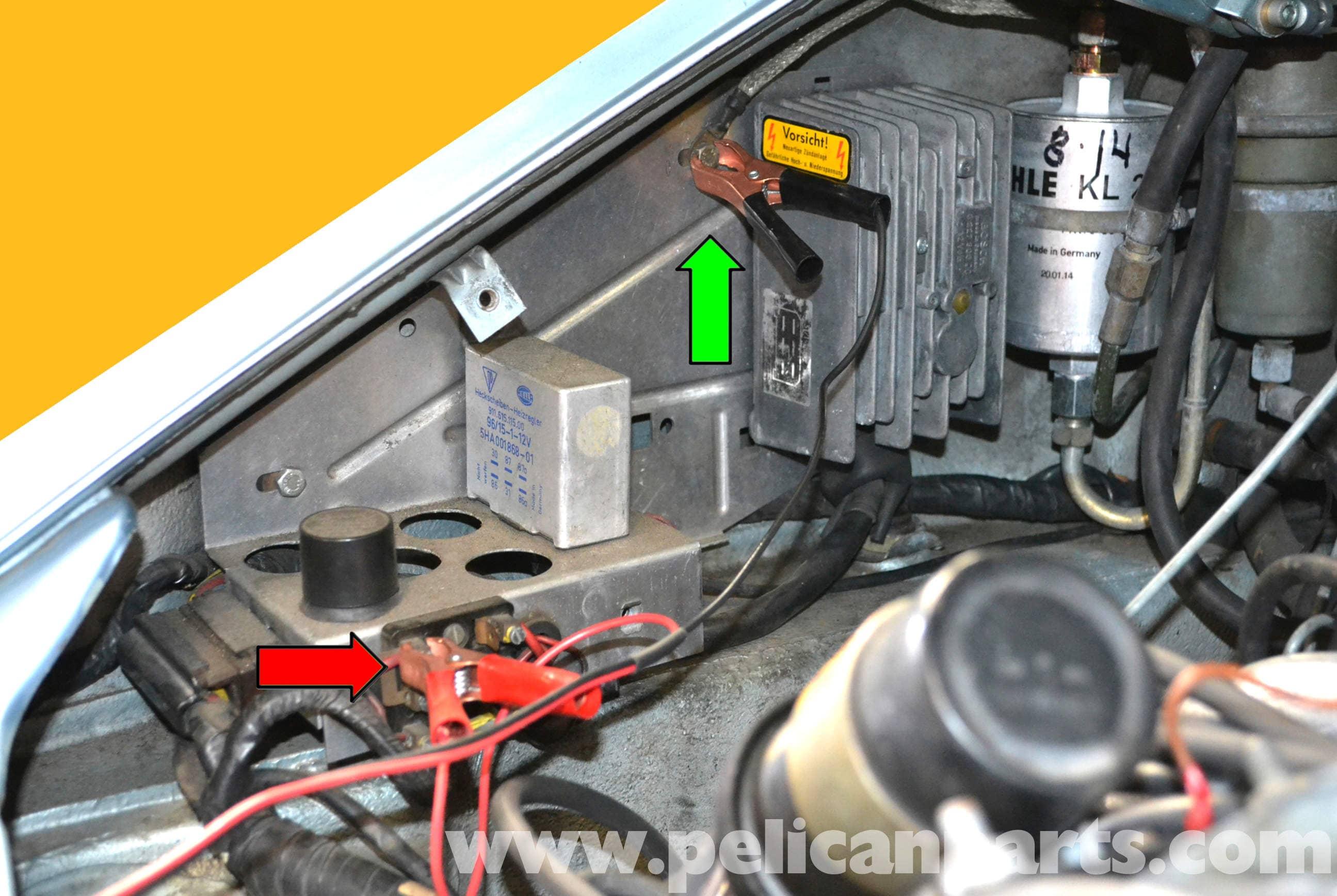 Porsche 911 Vacuum Leak Test | 911 (1965-89) - 930 Turbo (1975-89