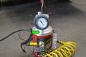 Plug the Smoke Pro into a compressor.