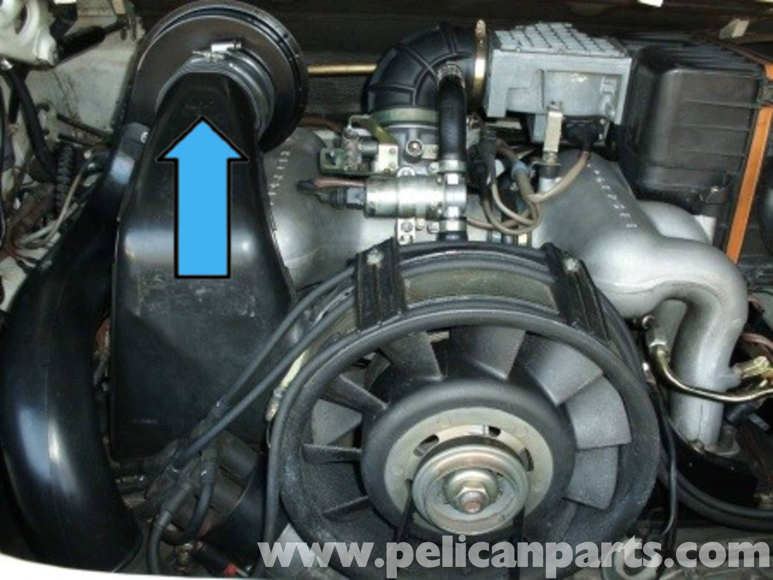 porsche 911 heater blower motor replacement 911 (1965 89) 930large image extra large image
