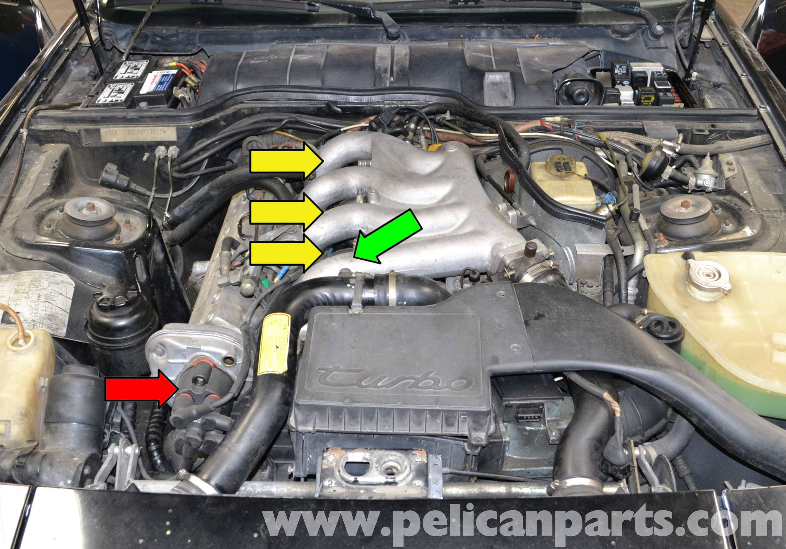 Porsche 944 Turbo Spark Plug Replacement 1986 1991 Pelican Parts Wiring A Top Large Image Extra