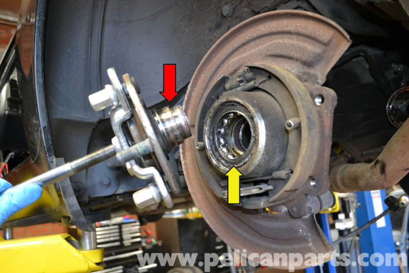 porsche 944 turbo rear wheel bearing replacement  1986