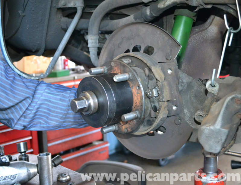 Porsche 944 Turbo Rear Wheel Bearing Replacement 1986