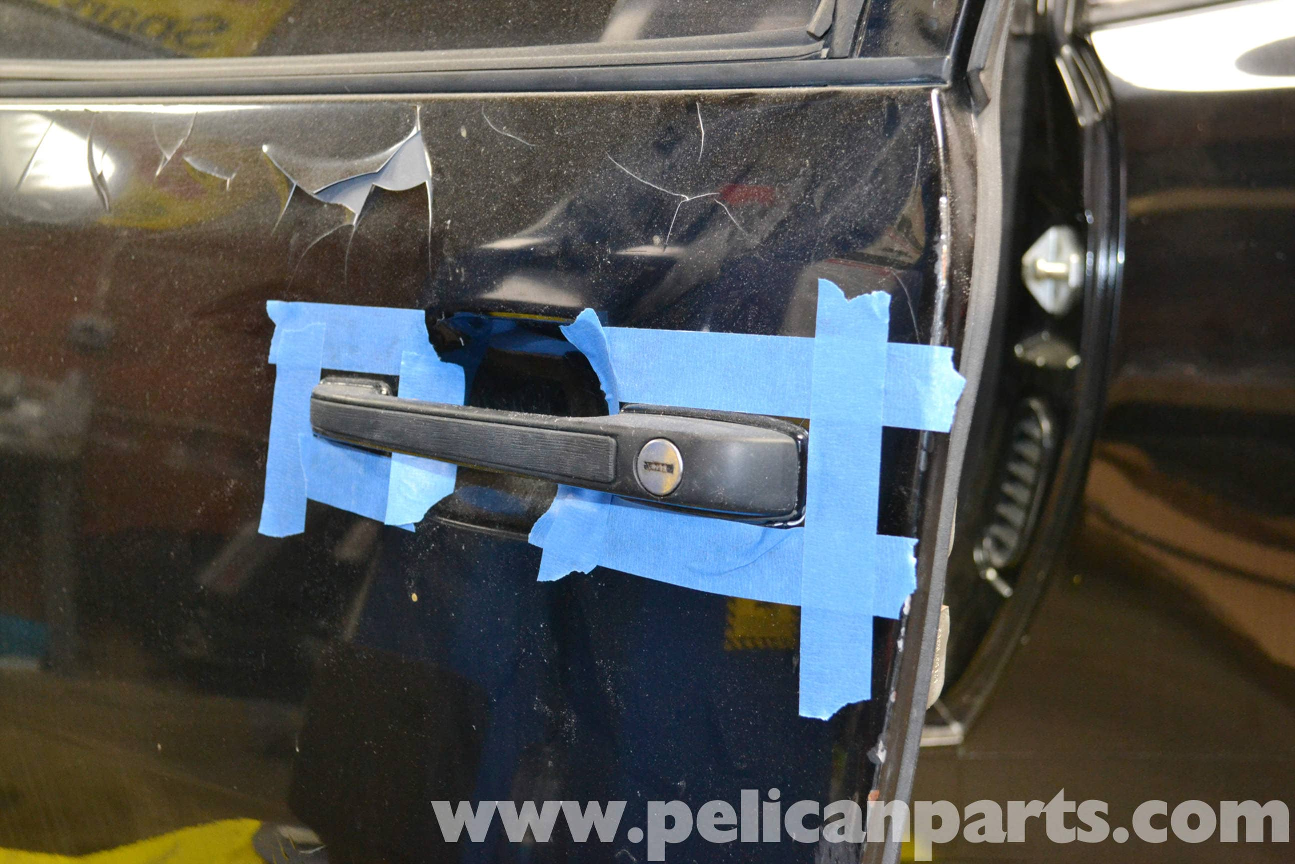Porsche 944 Turbo Door Handle Removal (1986-1991) | Pelican Parts ...