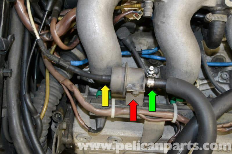 Porsche 944 Turbo Fuel Pressure Regulator Replacement