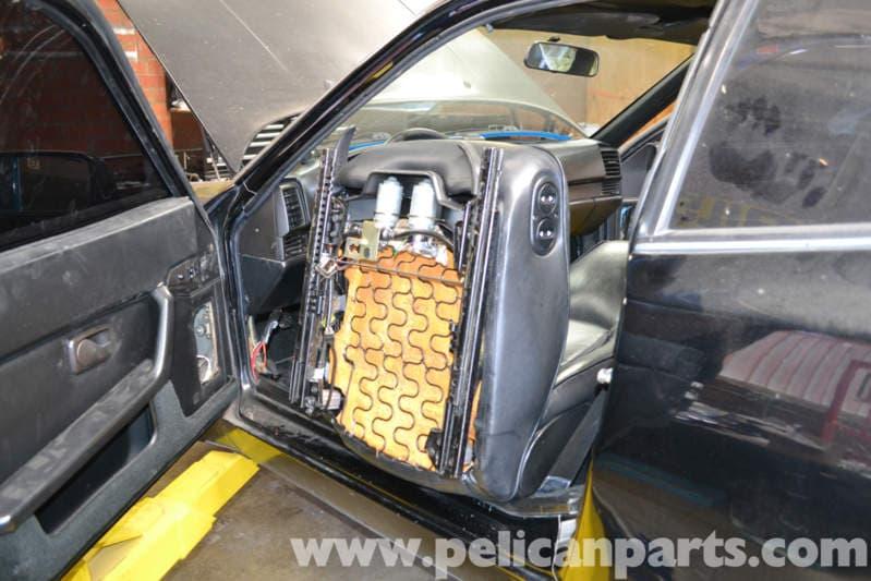 Porsche 944 Turbo Seats Removal 1986 1991 Pelican