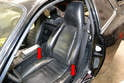Front Seats: The front seats are installed in the vehicle by two seat rails, one on each side of the front seats (red arrows).