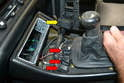 Depending on what aftermarket wiring has been added to the vehicle, there is not a lot of room to work.
