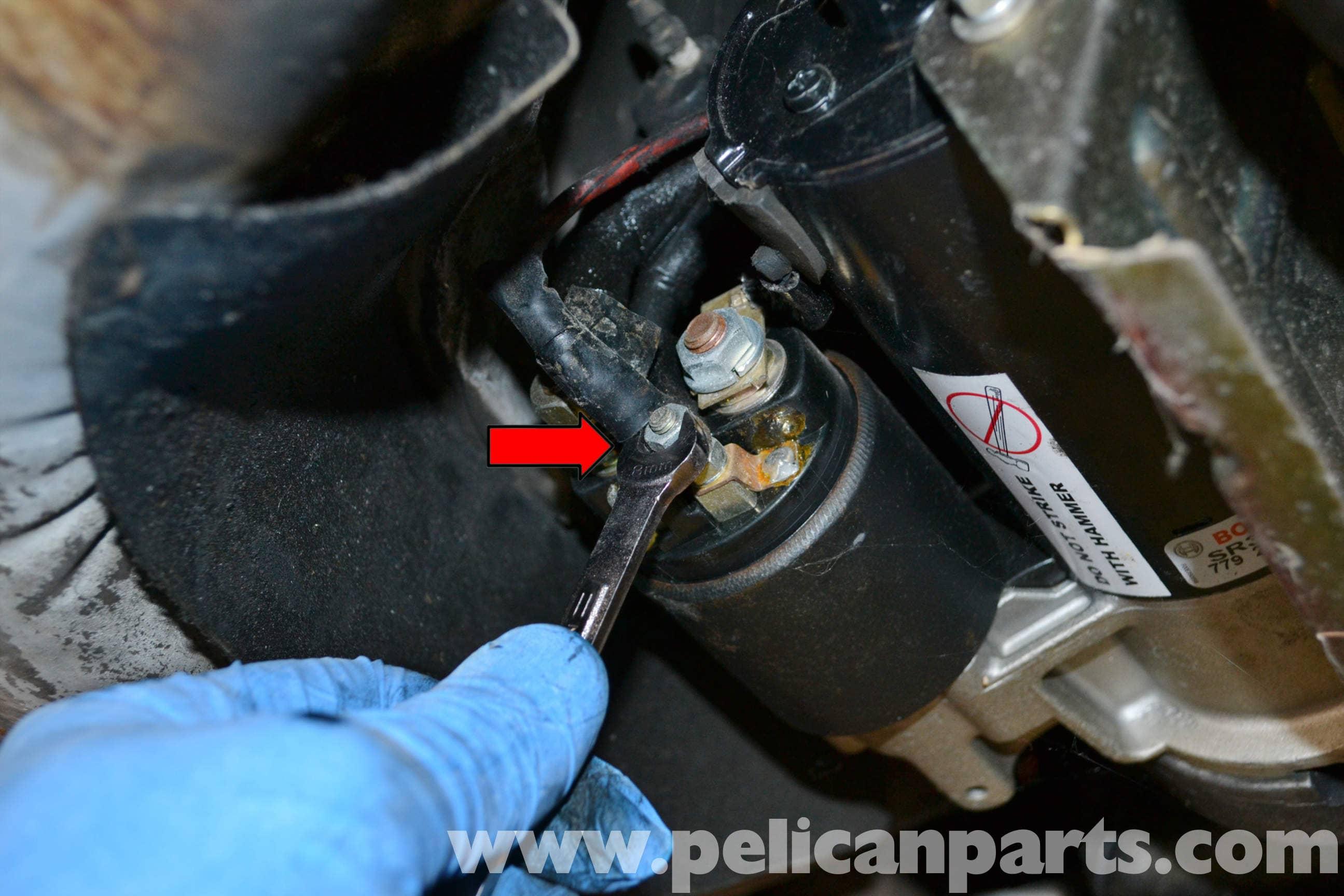porsche 944 turbo clutch slave cylinder replacement 1986 1991 rh pelicanparts com Porsche 944 porsche 924 starter motor wiring
