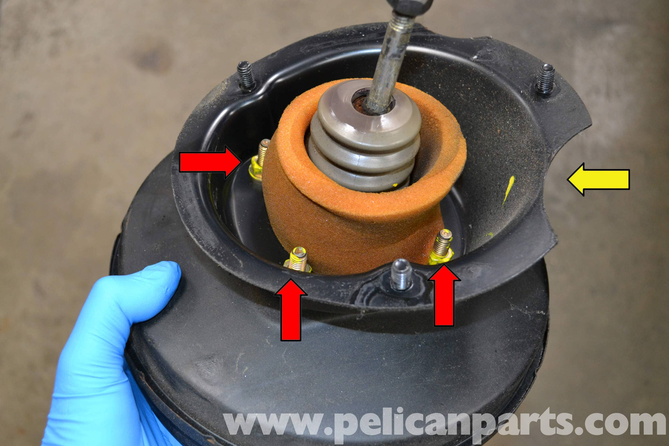 Porsche 944 Turbo Brake Booster Replacement (1986-1991