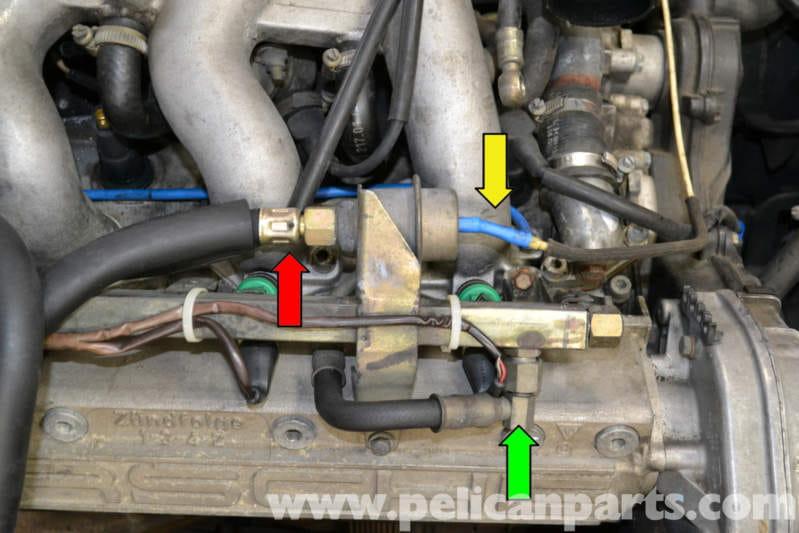 Porsche 944 Turbo Fuel Pressure Dampener Replacement  1986