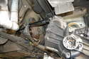 Remove the transaxle; please see our article on transaxle removal for additional assistance.