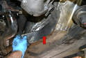 With the stock system removed check the condition of the heat shield.
