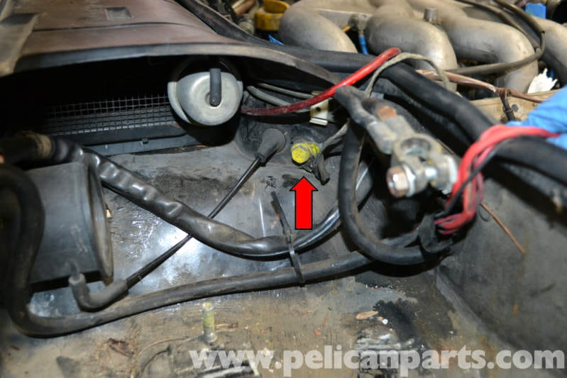 Porsche 944 Turbo Battery Connection Notes And Replacement